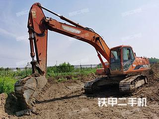 湖北-仙桃市二手斗山DH220LC-7挖掘机实拍照片