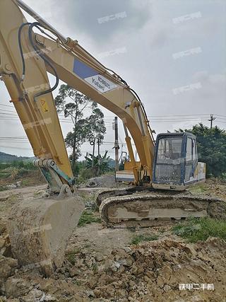 广东-肇庆市二手神钢SK200-3挖掘机实拍照片
