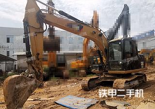 广西-南宁市二手卡特彼勒313D2 GC液压挖掘机实拍照片