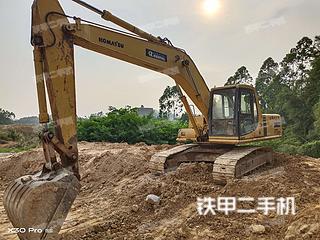广西-玉林市二手小松PC200-6E挖掘机实拍照片