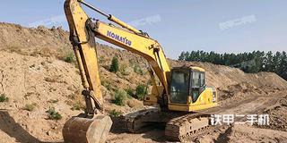 小松PW200-7挖掘機實拍圖片