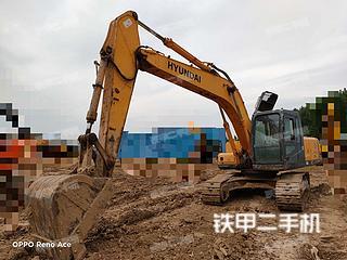 河南-郑州市二手现代R215-7挖掘机实拍照片