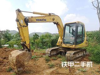 南京小松PC60-7挖掘机实拍图片
