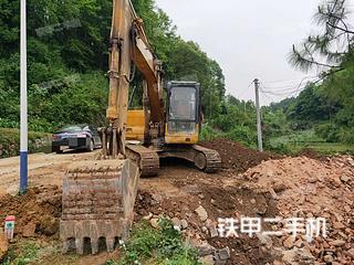 湖南-邵阳市二手雷沃重工FR130-7挖掘机实拍照片
