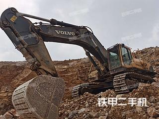 重庆-重庆市二手沃尔沃EC700BLC挖掘机实拍照片