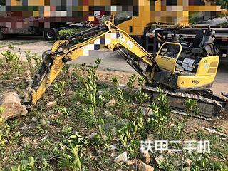 洋馬Vio17挖掘機實拍圖片