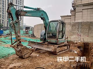 河北-石家庄市二手神钢SK70挖掘机实拍照片
