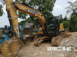 湖南-衡阳市二手三一重工SY135C挖掘机实拍照片