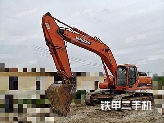 山东-烟台市二手斗山DH300LC-7挖掘机实拍照片