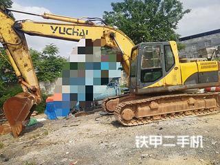 玉柴YC230LC-8挖掘機實拍圖片