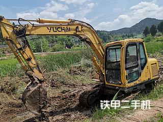 玉柴YC85-6挖掘機實拍圖片