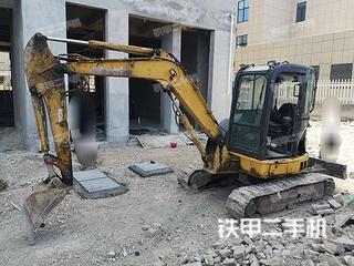 寧波小松PC55MR-3挖掘機實拍圖片