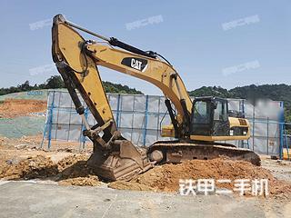 湖南-长沙市二手卡特彼勒336D液压挖掘机实拍照片