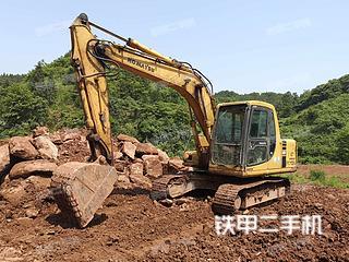 湖南-怀化市二手小松PC120-6E挖掘机实拍照片