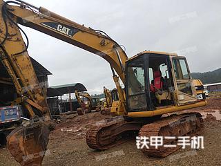 广东-梅州市二手卡特彼勒312B挖掘机实拍照片
