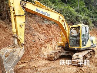 玉柴YC135-8挖掘機實拍圖片