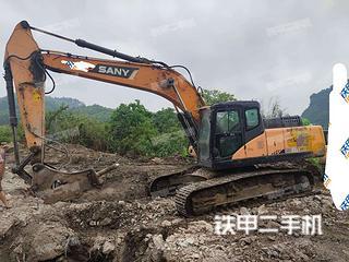 广西-河池市二手三一重工SY265C挖掘机实拍照片