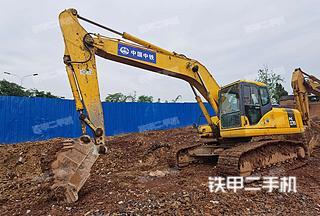 大足小松PC220-7挖掘机实拍图片
