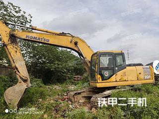 南京小松PC200-7挖掘机实拍图片