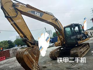 广东-广州市二手卡特彼勒320C挖掘机实拍照片