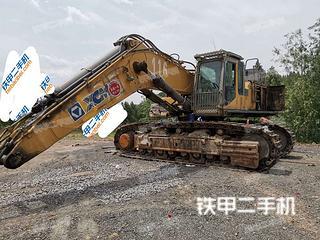 山东-淄博市二手徐工XE700C挖掘机实拍照片