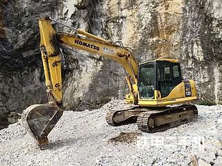 广西-河池市二手小松PC130-7挖掘机实拍照片