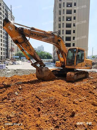 浙江-金华市二手现代R215-7C挖掘机实拍照片