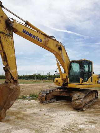 陕西-西安市二手小松PC210LC-8挖掘机实拍照片