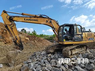柳工CLG920D挖掘機實拍圖片