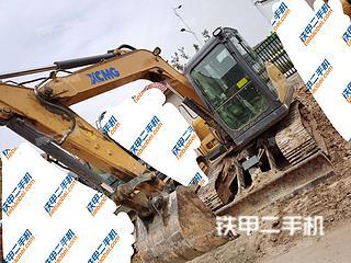 江苏-徐州市二手徐工XE75D挖掘机实拍照片