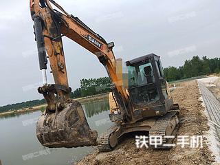 江苏-宿迁市二手三一重工SY55C挖掘机实拍照片