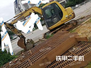 湖南-娄底市二手小松PC60-7挖掘机实拍照片