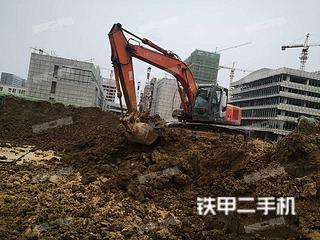 安徽-合肥市二手日立ZX210LC-3挖掘机实拍照片