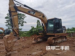 广西-来宾市二手卡特彼勒313D2GC小型液压挖掘机实拍照片