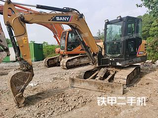 江苏-南京市二手三一重工SY55C挖掘机实拍照片