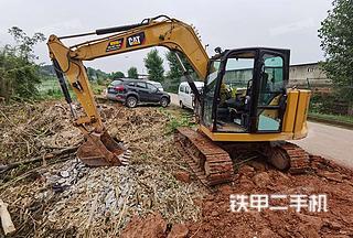 重庆-重庆市二手卡特彼勒307E2小型液压挖掘机实拍照片