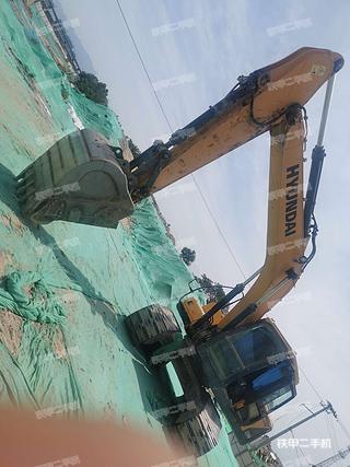二手现代 R215LVS 挖掘机转让出售