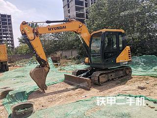 二手现代 R75BVS 挖掘机转让出售