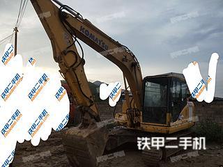 小松PC130-7K挖掘机实拍图片