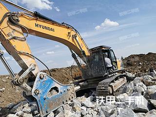 二手现代 R520L-9VS 挖掘机转让出售