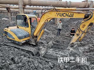 二手玉柴 YC55-8 挖掘机转让出售