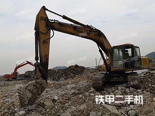 寧波小松PC200-6挖掘機實拍圖片