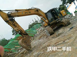閘北山重建機JCM921C挖掘機實拍圖片
