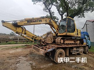 江西-宜春市二手小松PC120-6E挖掘机实拍照片