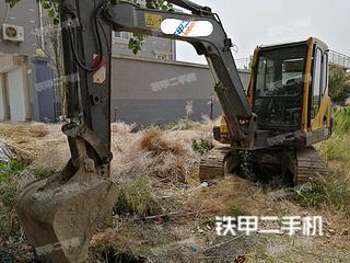 江苏-盐城市二手沃尔沃EC55B-Pro挖掘机实拍照片