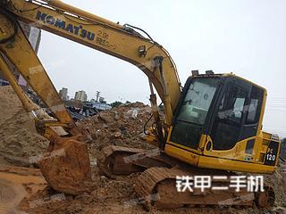 小松PC120-8挖掘机实拍图片