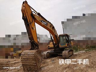 三一重工SY285C挖掘机实拍图片