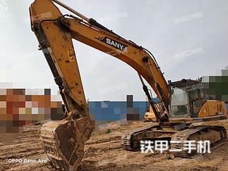 三一重工SY305C挖掘机实拍图片