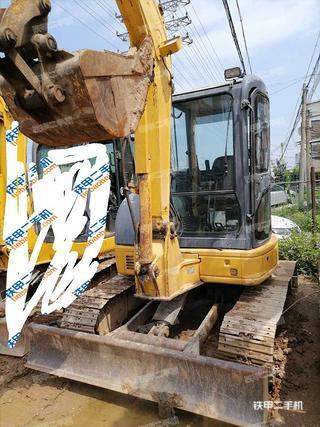 广东-肇庆市二手小松PC55MR-2挖掘机实拍照片