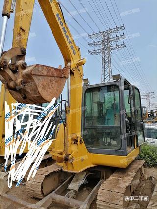 广东-肇庆市二手小松PC56-7挖掘机实拍照片
